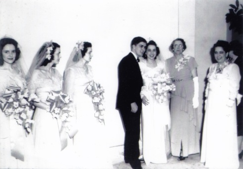 My grandparents' wedding