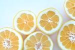 sliced Meyer lemons