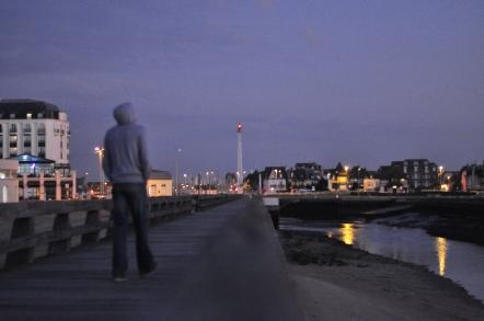 Trouville-sur-Mer at dusk
