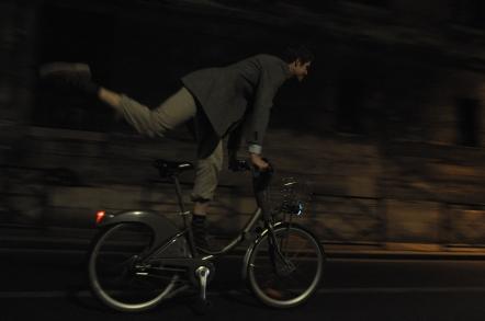 bicycle acrobatics