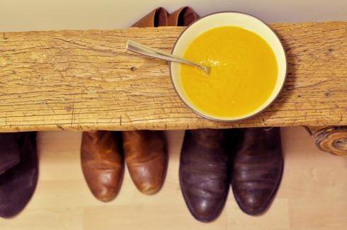 triple squash soup