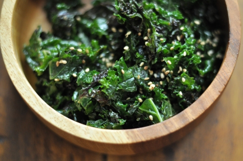 massaged kale